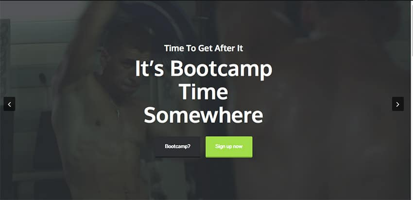 Template Wordpress per Palestre e Personal Trainer 2015: Action