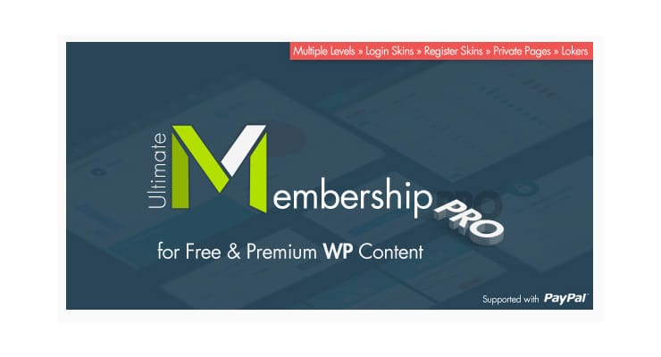 Ultimate Membership Pro: Plugin Wordpress Membership?