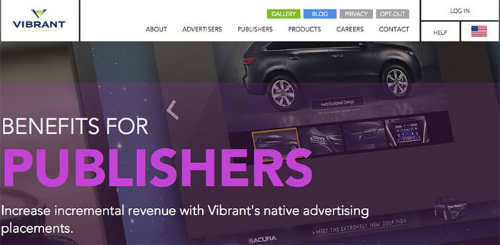 Vibrant - Alternativa Google AdSense
