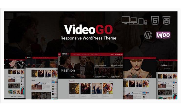 VideoGo: Tema Wordpress Sito Video Virali Responsive