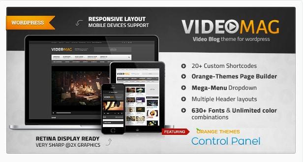 Video Mag - Powerful Video WordPress Theme