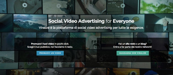 Viralize: Guadagnare con il Social Video Advertising