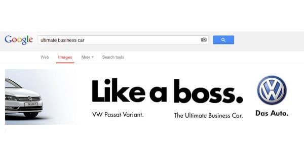 Nuove Forme di Pubblicità Online: LA SEA - Search Engine Ad e Volkswagen