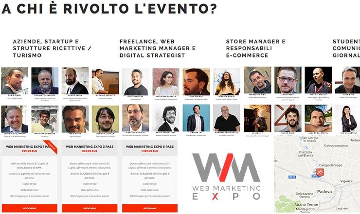 WMExpo: I Big del Web si Riuniscono a Padova a Settembre