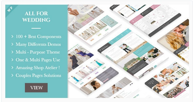 Wedding Industry - Multipurpose For Wedding & Couple
