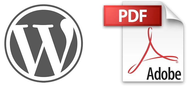 Come convertire Pagine e Post in Pdf: Wordpress Converter