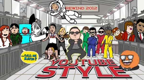 I Migliori Video Virali del 2012 Di YouTube: Rewind YouTube Style