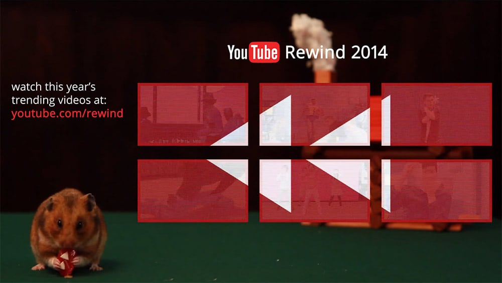 YouTube Rewind 2014: Comunicazione digitale video, Best of